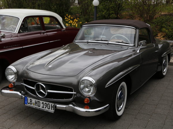 Mercedes Benz SL 190 – 1960
