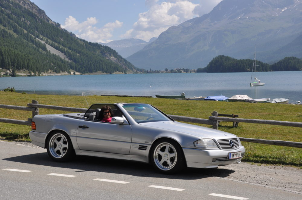 Mercedes 320 SL, Bj. 1995