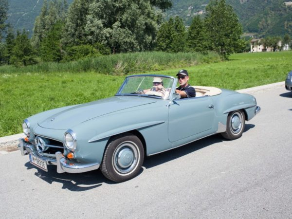 Mercedes Benz SL 190