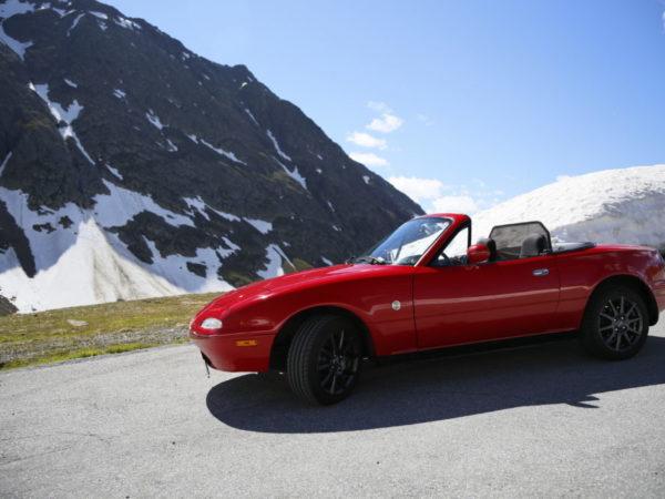 Mazda MX 5 (Nr.33) Baujahr 1990