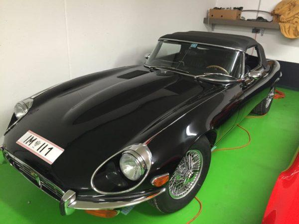 Jaguar E Type Cabrio