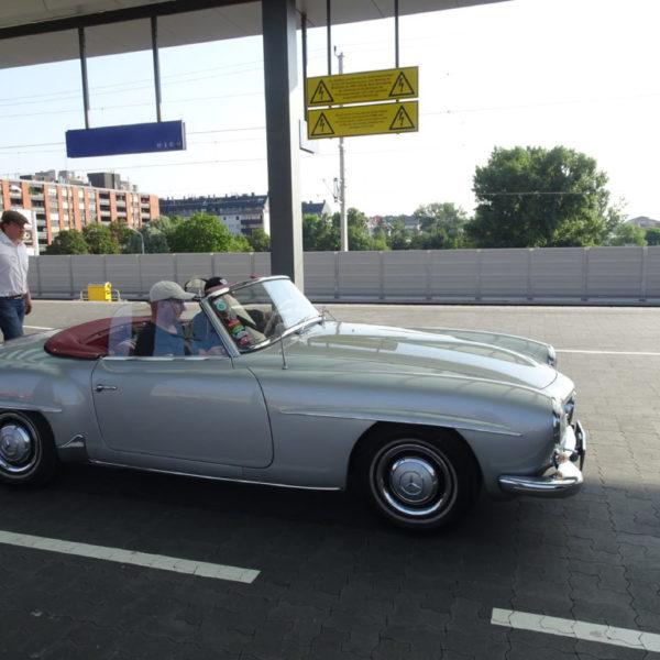 Mercedes Benz SL 190 Baujahr 1958