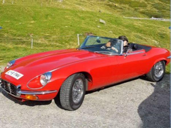 Jaguar E Type III Baujahr 1972